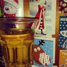 Dag184: granaatappel framboos thee