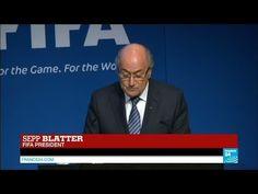 Fifa president Sepp Blatter resigns from office
