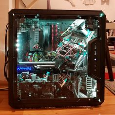Reports, news, pics, videos, discussions and documentation from a studded world. /r/lego is about all things LEGO®. Custom Gaming Computer, Gaming Pc Build, Computer Build, Gaming Pcs, Gaming Room Setup, Computer Setup, Pc Setup, Inside Pc, Diy Pc