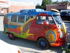 VW art bus (1967 VW Kombi)                                                                                                                                                                                 More