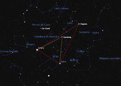 LUNA NEGRA: El Triángulo de Primavera y el Diamante de Virgo