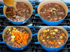 Lamb Stew Recipe - NatashasKitchen.com Lamb Recipes, Cooking Recipes, Recipes Dinner, Free Recipes, Salad Recipes, Keto Recipes, One Pot Meals, Main Meals, Slow Cooker Chicken Pineapple