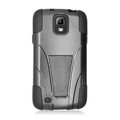 Inverse Kickstand Samsung Galaxy S4 Active Case - Black/Black