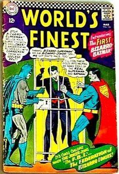 World's Finest 156 RARE Key DC Superman Batman VG 1st Bizarro | eBay