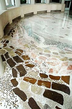 Fabulous Organic Floors Terrazzo