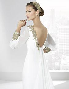 Catálogo de la colección de vestidos de Novia 2016 de Franc Sarabia. Encuentra aquí tu vestido de Novia ideal.