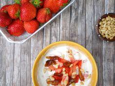 DSCN5167 Salsa, Mexican, Ethnic Recipes, Food, Greek Yogurt, Pine Tree, Strawberries, Meal, Salsa Music