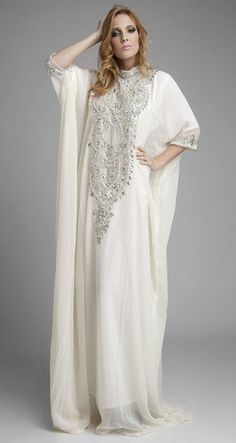 Dubai kaftan Abaya khaleeji jalabiya dress Wedding by AFROTRENDS, $148.99.  Kelly's leaning toward this one