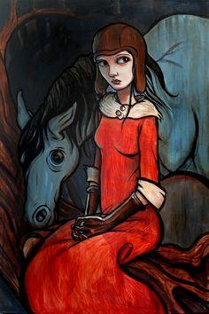 Kelly Vivanco - Art - Rider