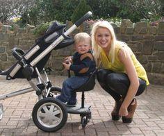 2 in 1 Buggy Board & Seat Best Baby & Toddler Kids Favorite Pushchair Stroller