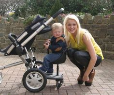 2 in 1 Buggy Board & Seat Best Baby & Toddler Kids Favorite Pushchair Stroller