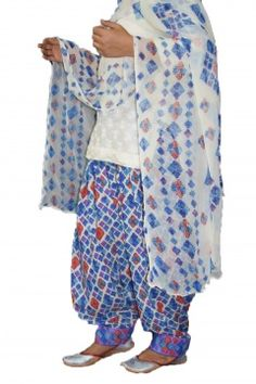 Printed Patiala Salwar Blended Cotton with Chiffon Print Dupatta Patiala Pants, Patiala Salwar, Online Dress Shopping, Online Shopping Stores, Shopping Sites, Print Chiffon, Chiffon Fabric, Victoria Secret Swimwear, Indian Embroidery