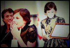 """L'attrice Sarah Maestri alla presentazione del film, da lei interpretato e co-diretto """"Il Pretore"""""""