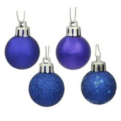 18 Christmas Ball Ornaments - 1.25'' by Gordon Companies, Inc. $24.00. Shipping Weight: 0.50 lbs. Please refer to SKU# ATR25773676 when you inquire.. This product may be prohibited inbound shipment to your destination.. Brand Name: Gordon Companies, Inc Mfg#: 30707705. Picture may wrongfully represent. Please read title and description thoroughly.. 18 Christmas ball ornaments/blue/shiny, matte, glitter and sparkle/hangers included/1.25'' dia./30mm/made of plastic and gl...