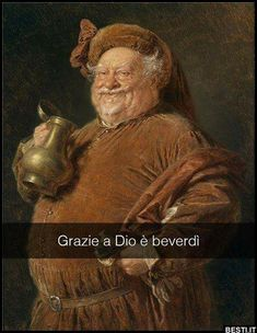 Falstaff mit Weinkanne by Eduard vonGrützner Funny Images, Funny Pictures, Business Look, Art Memes, Italian Art, Funny Art, Just For Laughs, New Art, Comic Art