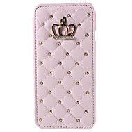 timantti+kruunun+bling+PU+nahka+läppä+jalustan+ja+kortin+haltijan+tapauksessa+kattaa+iPhone+6+/+iPhone+6s+(eri+värejä)+–+EUR+€+9.79