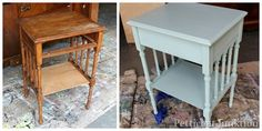 How To Antique Paint Furniture. DIY