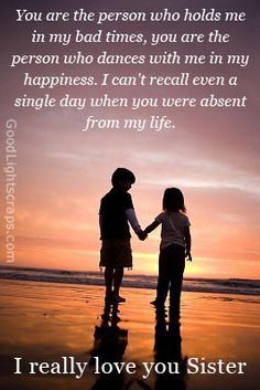 sibling quotes and sayings | Sister orkut scraps, sister quotes, messages and graphics with sayings ...