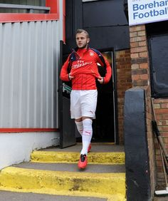 Jack Wilshere at Meadow Park.