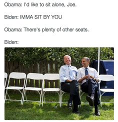 "The Internet Imagines Barack Obama and Joe Biden as Best Buds and Their ""Conversations"" Are Hilarious"