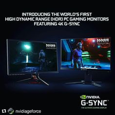 Meet the worlds first G-SYNC HDR monitors featuring 4K 144Hz 384-zone backlights and Quantum Dot technology: nvda.ws/2hVynFl #CES2017