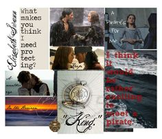 """""""Elizabeth Swann, Pirate King"""" by allendrea ❤ liked on Polyvore featuring art Will And Elizabeth, Elizabeth Swann, Elizabeth Turner, Jack Sparrow Quotes, Pirate Queen, Pocket Princesses, Captain Jack Sparrow, Pirate Life, Moody Blues"""