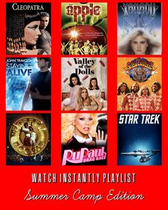 9 Campy Netflix Watch Instantly Selections #campy