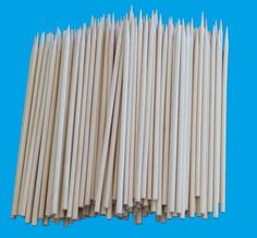 ROUND SKEWERS...4 mm x 250 mm...250 pcs x 20 bags...