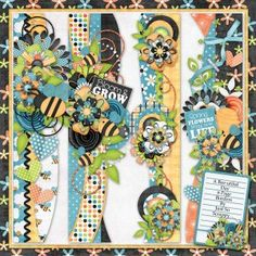 A Bee-utiful Day Page Borders