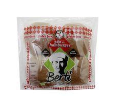Casa Santa Luzia Alimentos Especiais : Pão de Hamburger Sem Glúten Berti 296g