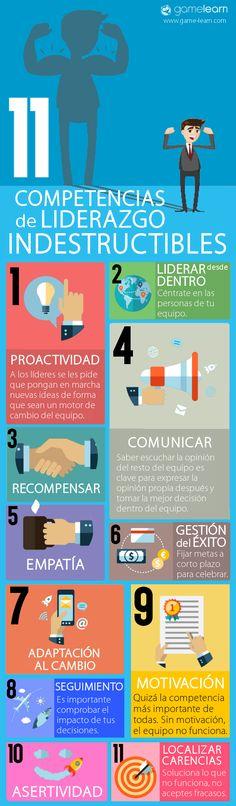infografía competencias de liderazgo