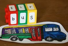 Juguetes caseros y ecológicos: Transformar Lego Duplo para aprender a leer y escribir | Amor Maternal