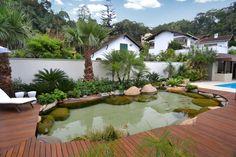Portal Paisagismo » Arquivo » Ecosys lagos ornamentais externos