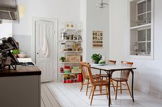 Light and airy dining
