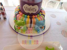 Torta del cumple de Violeta