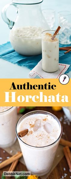 You know the feeling when you taste an authentic Horchata recipe? Enjoy these 10 Authentic Horchata Recipes! Refreshing Drinks, Summer Drinks, Fun Drinks, Healthy Drinks, Beverages, Cold Drinks, Dinner Healthy, Agua Horchata, Gourmet