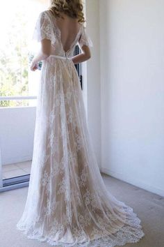 Wedding Dresses White #WeddingDressesWhite, Custom Made Wedding Dresses #CustomMadeWeddingDresses, Wedding Dresses Long #WeddingDressesLong, Lace Wedding Dresses #LaceWeddingDresses, A-Line Wedding Dresses #ALineWeddingDresses