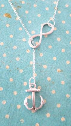 Silver Anchor and Infinity Lariat