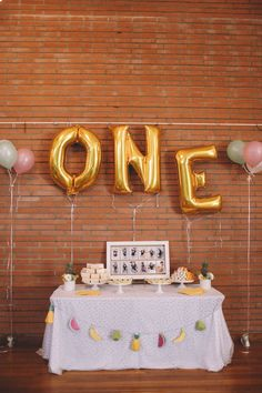 Tropical Pink First Birthday Party time excellent Pinterest