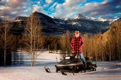Snowmobiling in Pagosa Springs Colorado |   The Pagosa Springs area tranforms into a winter wonderland for snowmobilers.  With hundreds of miles of groomed and maintained trails and backcountry options every direction you go, you'll love exploring our mountains in the winter.