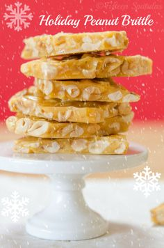 How to make Peanut Brittle by Fifteen Spatulas. It's the most forgiving cooked sugar candy! Perfect for the holidays! Peanut Brittle Recipe, Brittle Recipes, Just Desserts, Delicious Desserts, Yummy Food, Holiday Baking, Christmas Baking, Candy Recipes, Sweet Recipes
