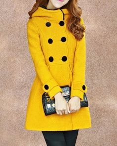 5- colors Princess style  dress coat  Wool jacket  Double button coat  Apring autumn winter coat jacket cute coat  overcoat  for woman C145 $85. In green please.