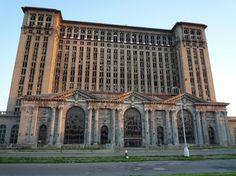 Detroit's train station...
