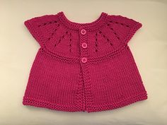 Ravelry: Girl's All-in-One Sleeveless Top pattern by marianna mel Kids Knitting Patterns, Baby Cardigan Knitting Pattern, Knitting For Kids, Baby Knitting, Summer Sweaters, Baby Sweaters, Baby Cocoon, Summer Tops, Free Summer
