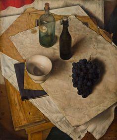 Dick Ket (1902–40), Stilleven met druiventros (Still-life with grapes), 1934