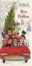 Cute, inexpensive late 50s/early 60s Christmas card