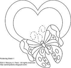 Butterfly quilt design