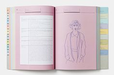 Published by Phaidon, it's a collection of lessons written by artists such a Miranda July, Katharina Grosse, Walead Beshty, Marina Abramovic, Tim Rollins, John Stezaker and many others. On top of that, each artist has been drawn in charming, pencil crayon portraits by the designer herself and the creative director of Phaidon Press, Julia Hasting. http://www.itsnicethat.com/articles/julia-hasting-akademie-x