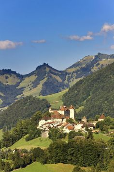 Canton of Fribourg Chateau de Gruyeres