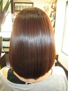 Shiny bob Long Bob Haircuts, Bob Hairstyles, Medium Hair Styles, Short Hair Styles, Indian Wedding Hairstyles, Luscious Hair, Silky Hair, Brunette Hair, Mi Long